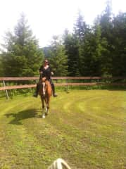 Nothing like getting back up on the horse again...pure joy!