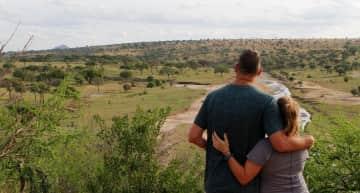 After a month of volunteering, we enjoy a safari to Tarangire, Serengeti, and Ngorongoro National Parks, Tanzania.