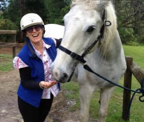 This is me with my friends horse Monty, whom I rode for approximately 13 years