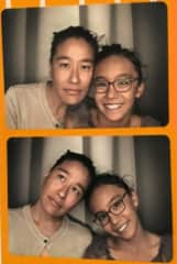 Photo booth (my daughter who may be with me)!!