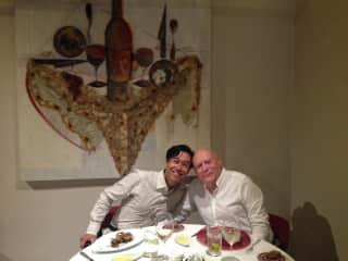 Steven ,Ariel dinner in Toledo