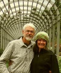 Terry and Linzi at St Paul, Minnesota