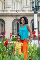 My daughter and I in Havana, Cuba.