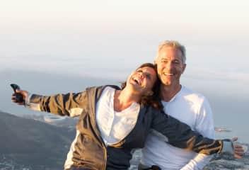 Warren and I, Table Mountain, SA