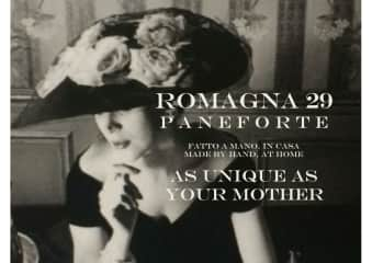A promo I created for my paneforte for Mother's Day this year