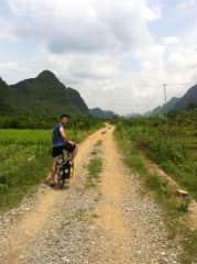 Biking in Yangshuo, China