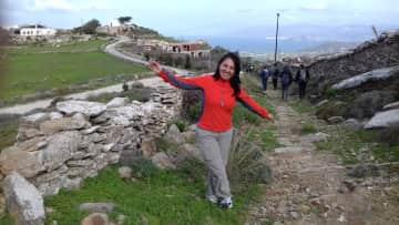 Trekking in Paros, Greece, January 2019