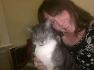 Selfie with Zelda kitty