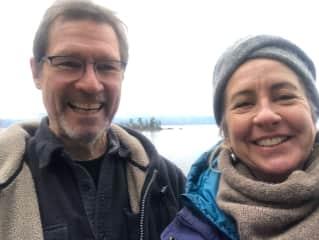 Exploring for new campsites around Flathead Lake !