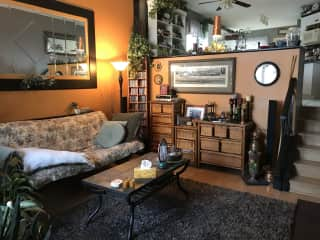 Main floor sitting room/living room