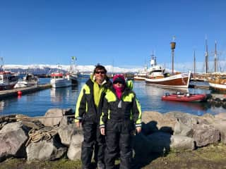 Whale Watching in Iceland!