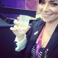 Me working as an event manager at the Olympics 2012