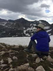 The Teton Mountain Range (in July!)