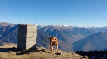 On the French/Spanish frontier in the Pyrenees