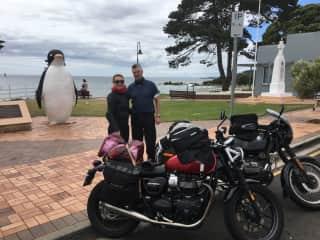 Motorcycling around Tasmania