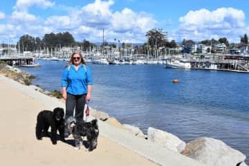 Dory and Reba with Charlene - Santa Cruz, California Trustedhousesit