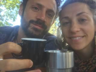 Avid Tea Lovers - Stash and Kendra!  Cheers!