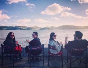 Lisbon with Alyse, Ian and a friend