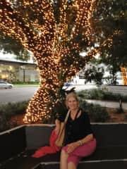 Lainey enjoying the good life in Brisbane Australia