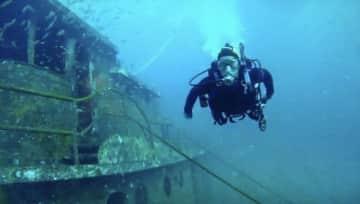 My favorite activity - scuba diving.