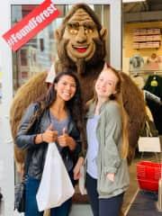 My best friend & I in Seattle!