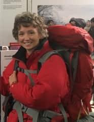 Backpacking through Europe.