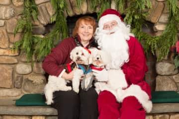 Santa with Jingles and Joey