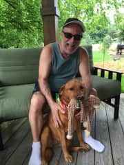 Me and my girl Goldie Mae DAndrea.
