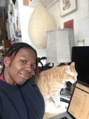 Cat sitting in Tribeca!