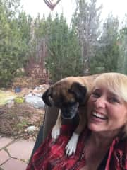 Kris and Cloe the Puggle