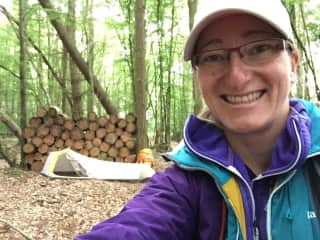 Sleeping in the woods during my 450-mile walk across France (2017)