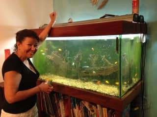 Elvira and the fish