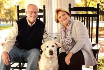 Joe & Linda with our sweet Katie