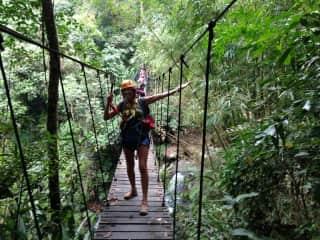 Trekking adventure in Laos