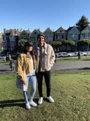 My sister and I in San Francisco (12/2019)