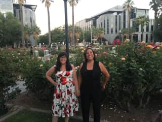 Kimberly and Valerie