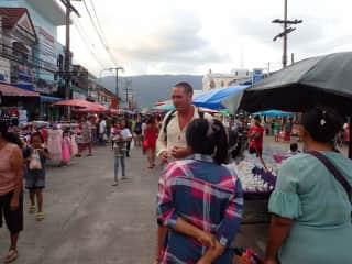 James in thailand