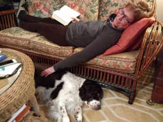 Jane & Griffin (3rd pet sit)