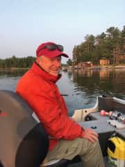 Bill fishing in Canada 8/18