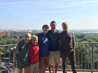 Washington DC with family