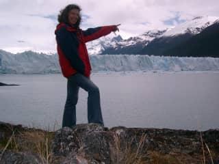 Stay at Perito Moreno-glacier (Argentina)