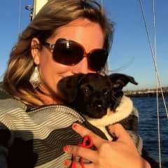 Sailing in San Diego with my dog, Mogli
