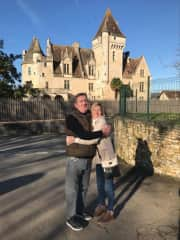 Unfortunately not our house! but the Chateau up the road from where we live