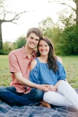 My husband Zach and I