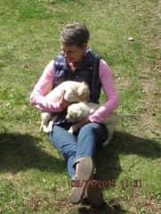Judy and pups