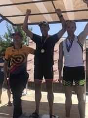 Rory Perron - second place finish (age group) at World Senior Games in St. George Utah 2019.
