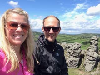 Hiking in Dartmoor, Devon