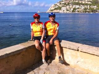 Biking in Majorca, Spain cat sit September 2013