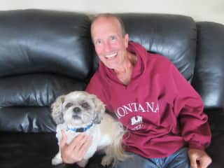 Being a couch potato with MOLLY (Port Alberni, BC)