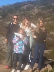 Family holiday in Tasmania
